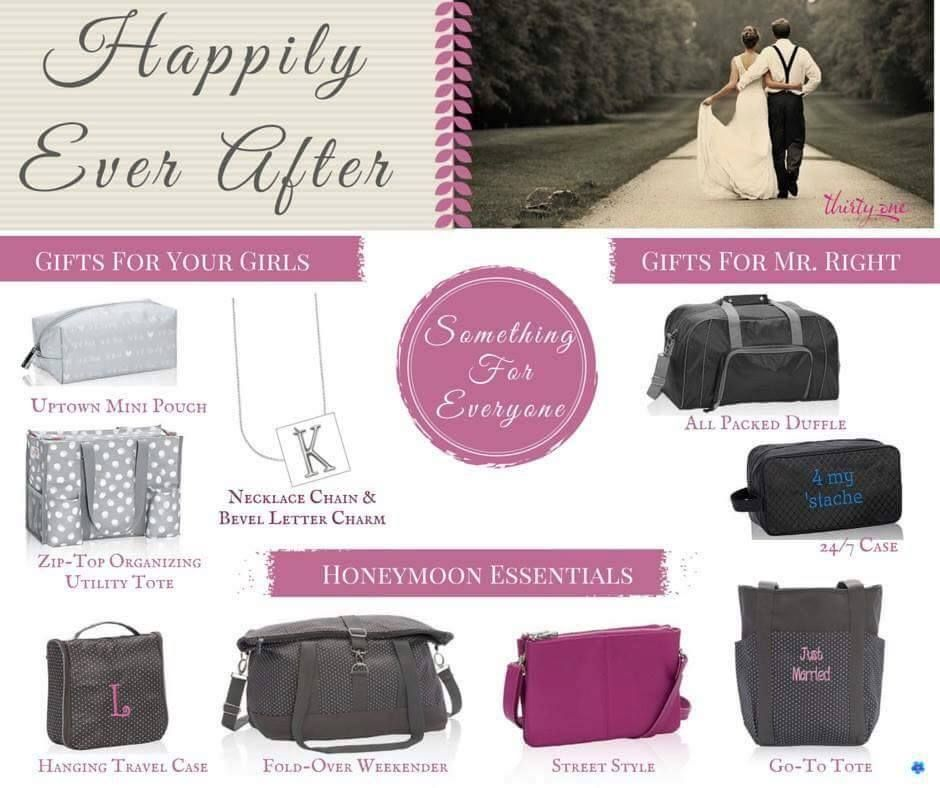 Thirty One Wedding Gift Ideas: Thirty-One Has Some Beautiful And Functional Ideas For The
