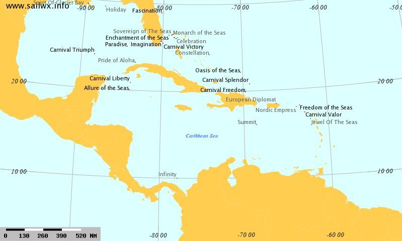Httpwwwmarinevesseltrafficcomcruiseshipstracking - Cruise ship location tracker
