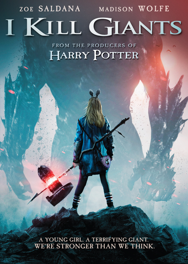 I Kill Giants Dvd 2017 Best Buy Giants Poster Madison Wolfe Movies