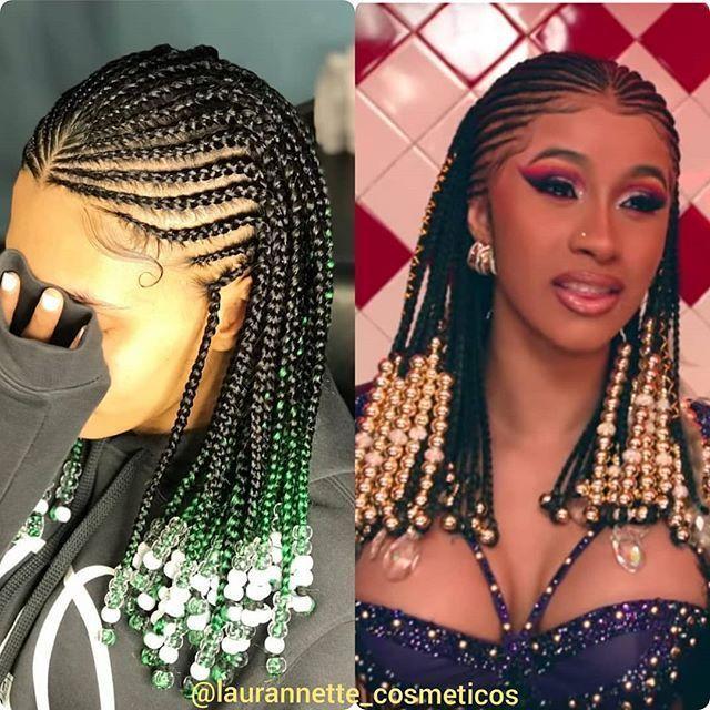 Fulani Braids With Beads Fulani Braids With Beads Braids For Black Hair Braided Hairstyles Natural Hair Braids