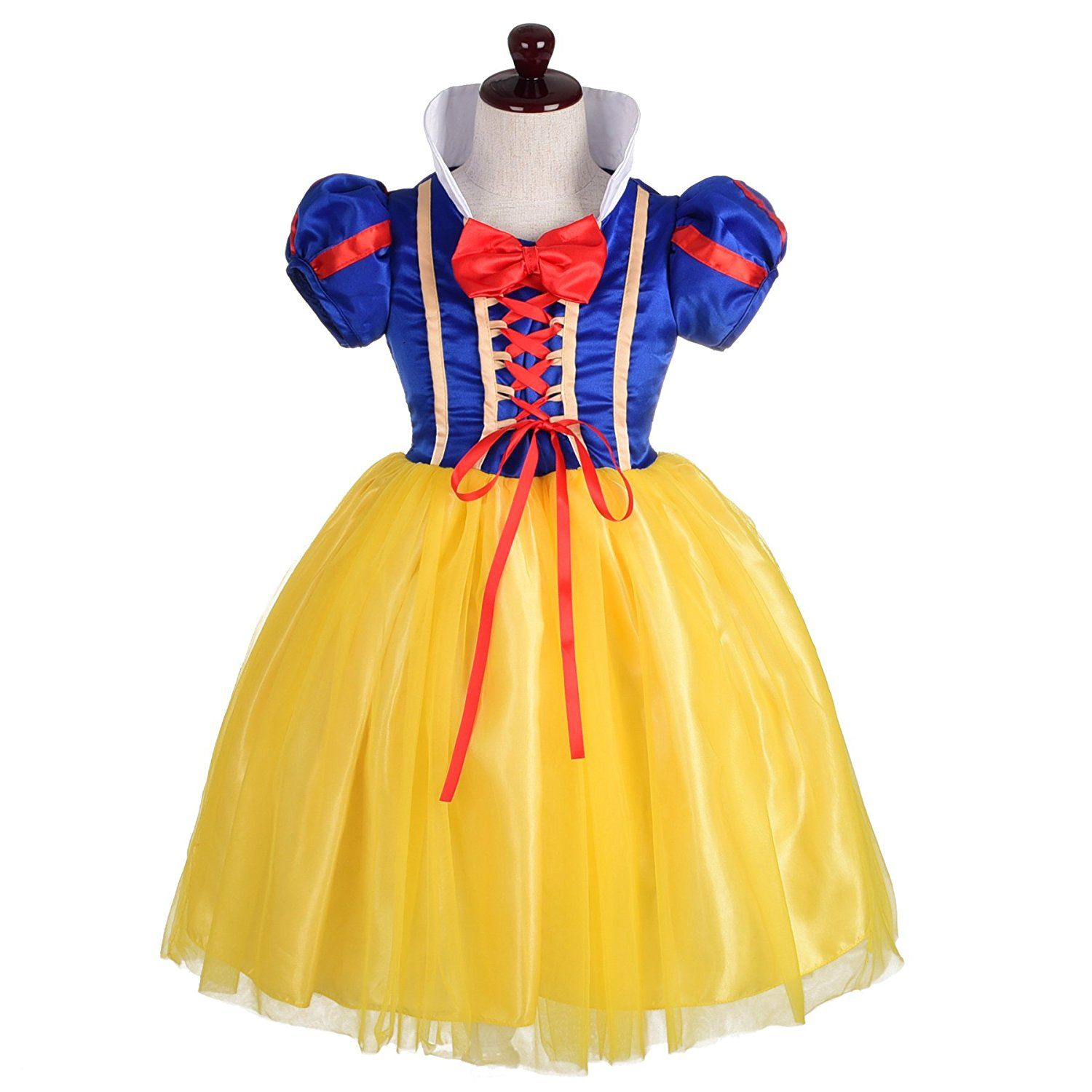 Dressy Daisy Girls\' Princess Snow White Costume Fancy Dresses Up ...