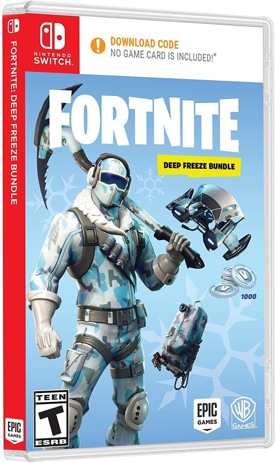 Details About Fortnite Deep Freeze Bundle Nintendo Switch Brand
