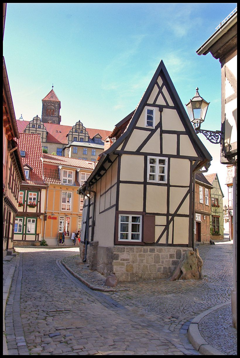 German House Designs: The Finkenherd In Quedlinburg, The Place Where Henry The