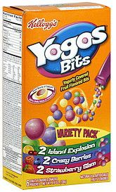 Yogos Bits Fruit Flavored Snacks scores a 42 for me on ShopWell ...