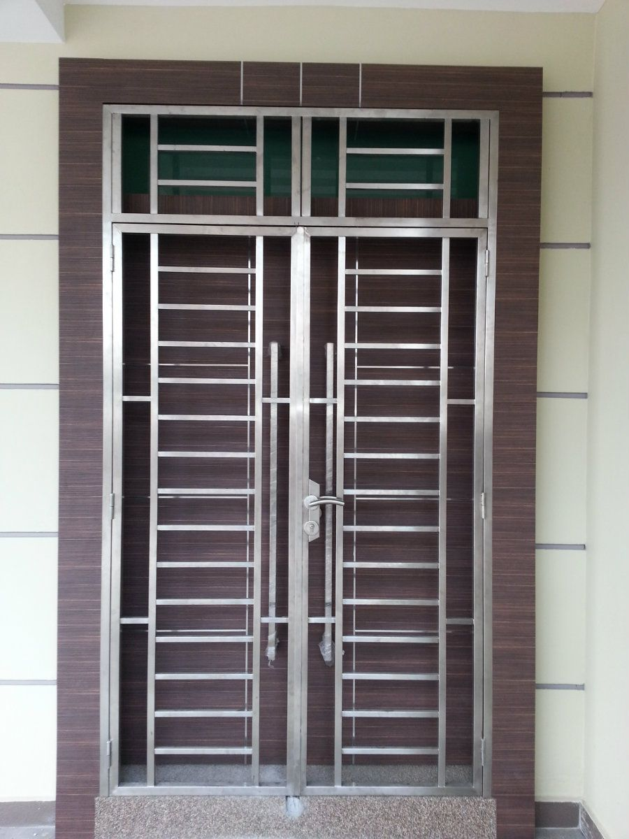 Window grille johor bahru jb malaysia supply suppliers for Door design steel