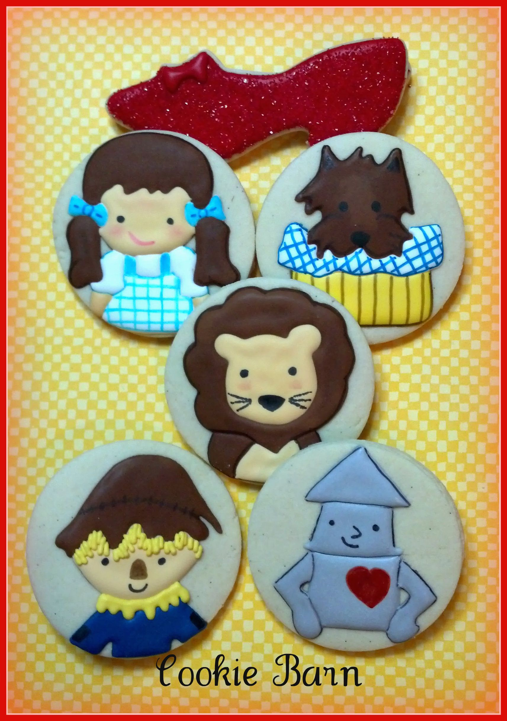 Wizard of Oz Decorated Cookies | Wizard of Oz | Pinterest ...