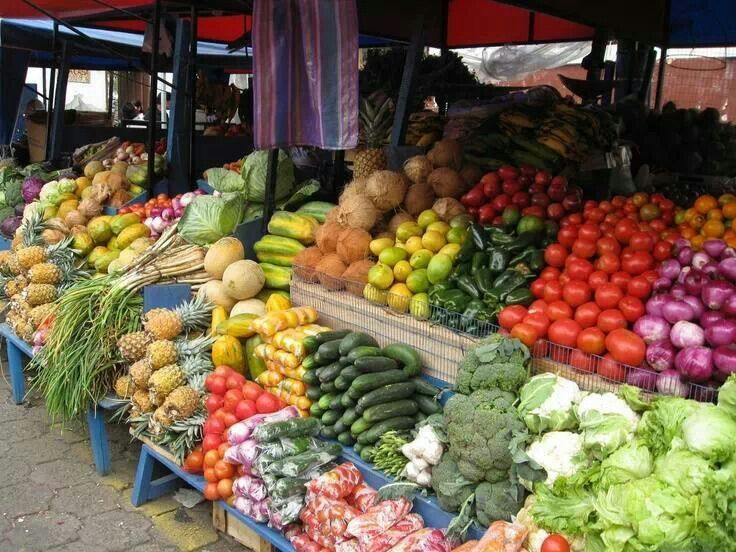 Jamaican Market. Beauty in fruit and vegetables | Jamaica food ...
