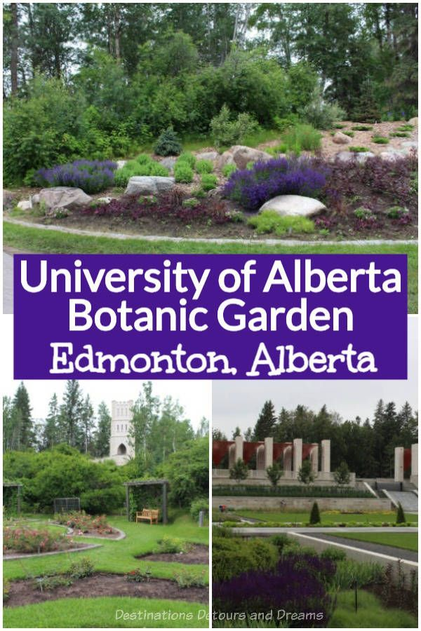 University of Alberta Botanic Garden: Garden In A Forest #botanicgarden