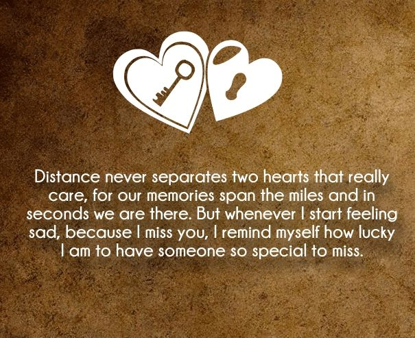 Romantic Long Distance Relationship Quotes For Married