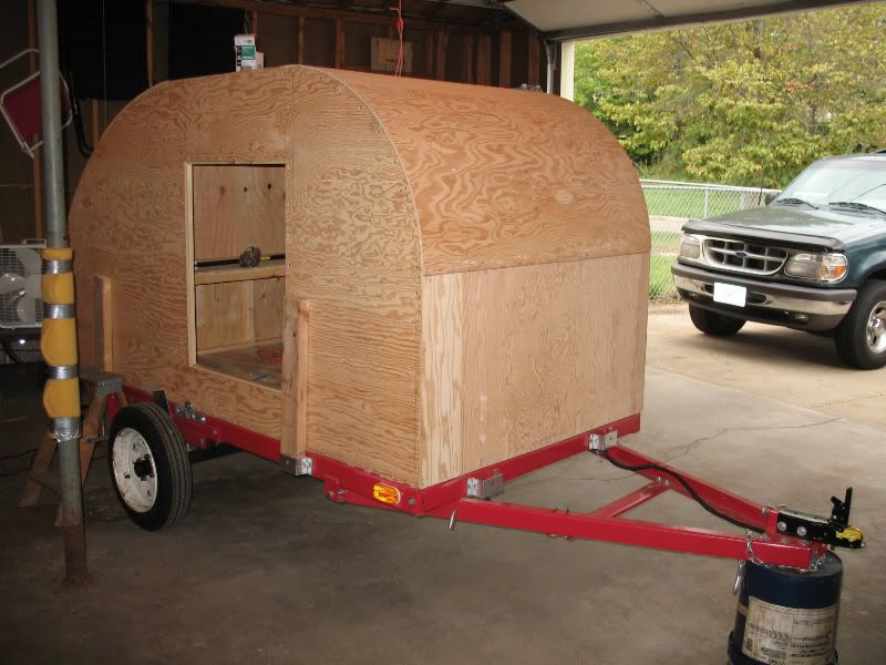 Homemade Teardrop Camper How To Build A Wanderpup Camper