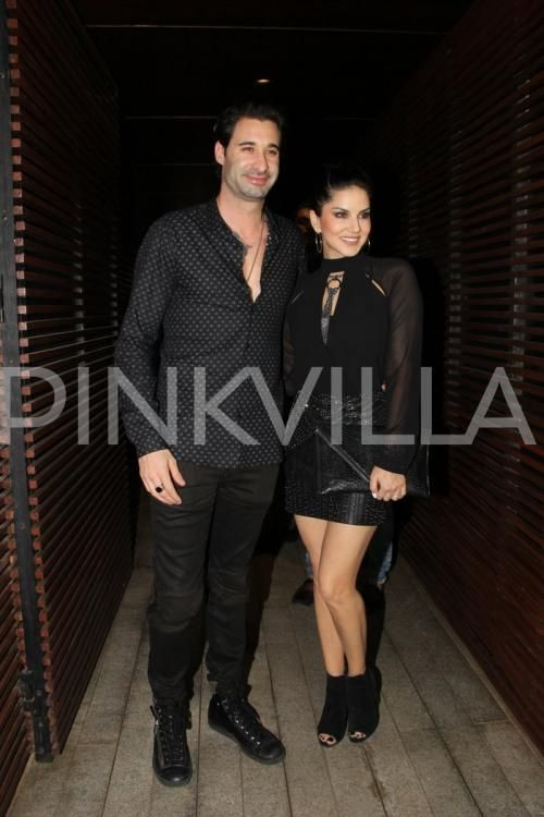 Black Love! Sunny Leone and hubby Daniel Weber get papped in the city