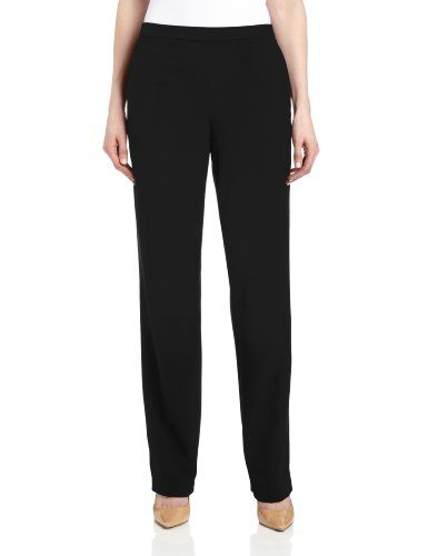 Briggs Womens Pull On Dress Pant Regular Length  Short Length