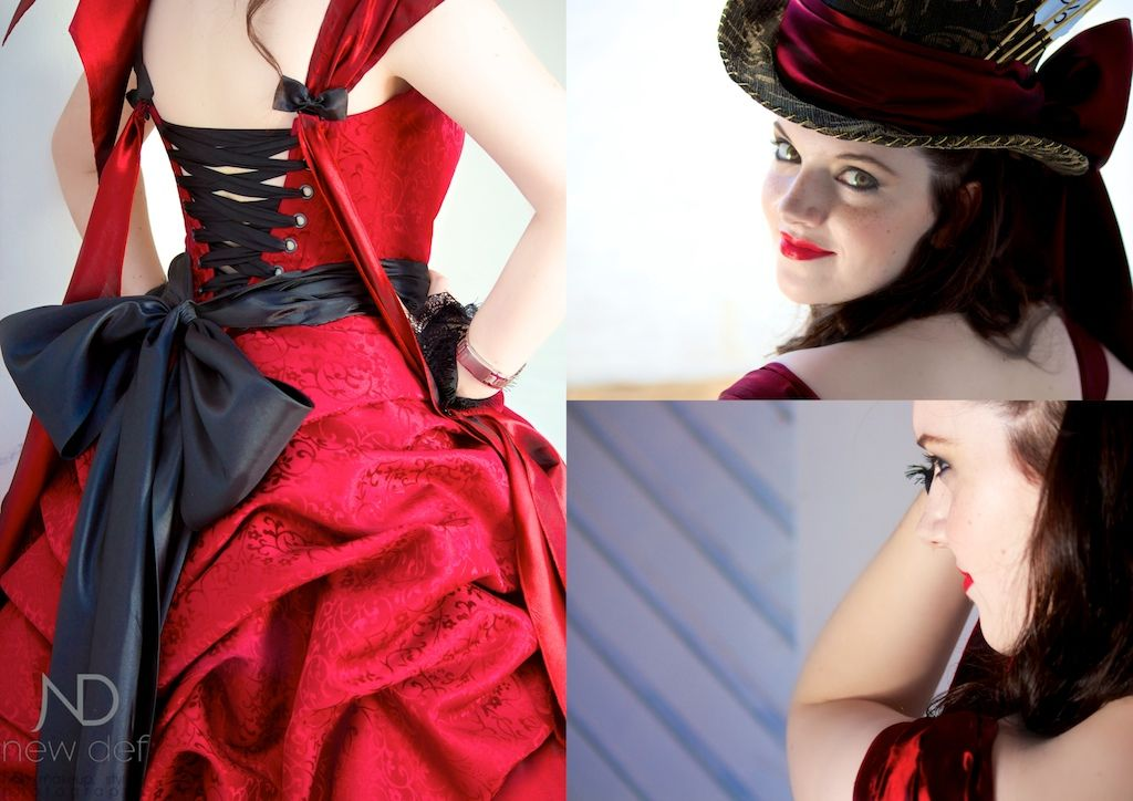 Reinvention Shoot From Alice In Wonderland S Mat Hatter Character Depicted Perfectly By Miss Jade Armstrong F Makeup Photography Matric Dance Victorian Dress