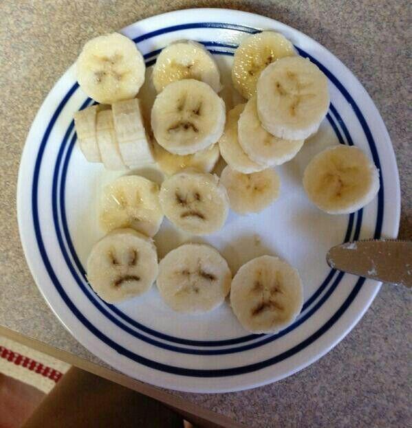 Banana faces!!!