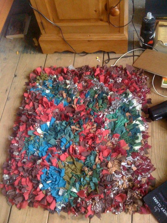 Rag Rugs Grown Up Version Of Latch Hook Courtney Baker Blalock