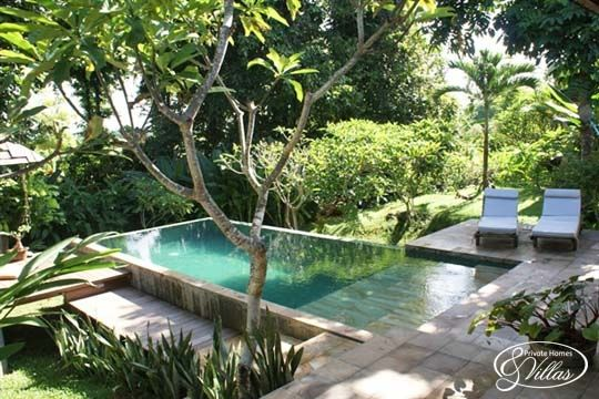 Rumah campur interior design rectangular pool small - Above ground pools for small backyards ...
