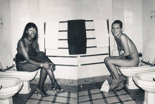 Something is. Kate moss toilet apologise
