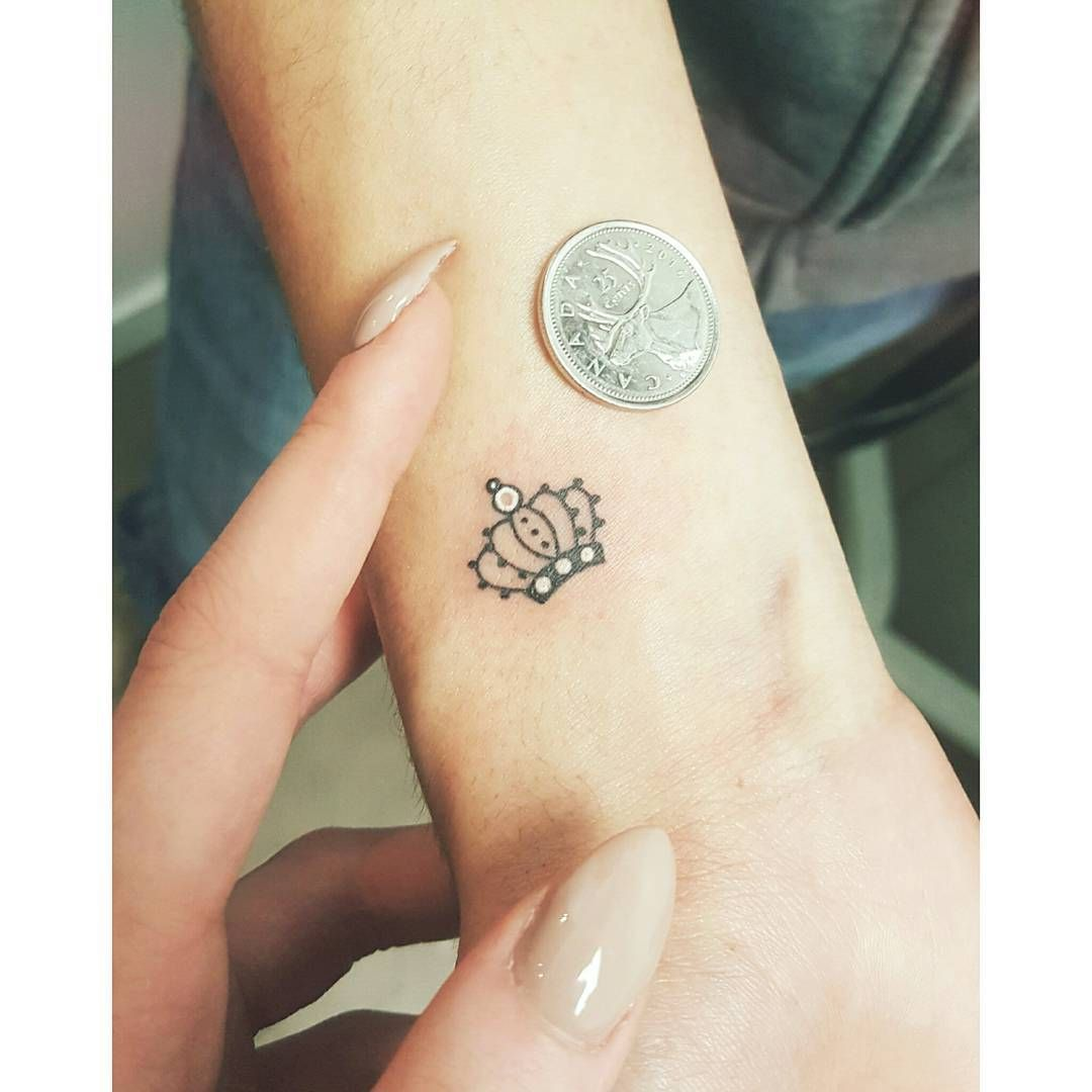These Tiny Crown Tattoos Will Make You Feel Like A Damn Princess