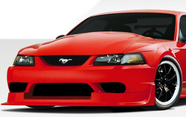Duraflex 99 04 Ford Mustang CBR500 Wide Body Front Bumper Cover Kit