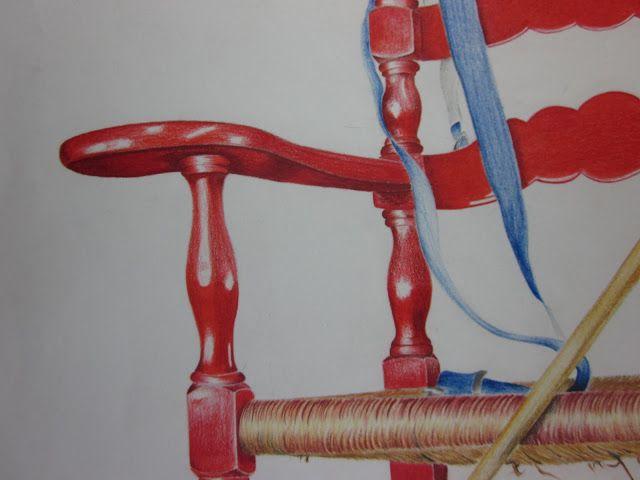 Red Chair Closeup - 2009