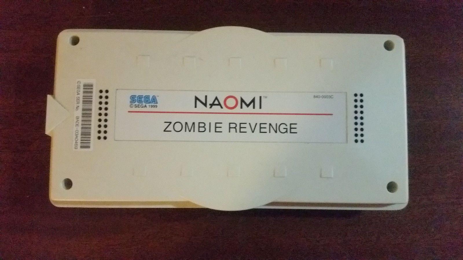 Zombie Revenge Sega Naomi Arcade   vintage games and
