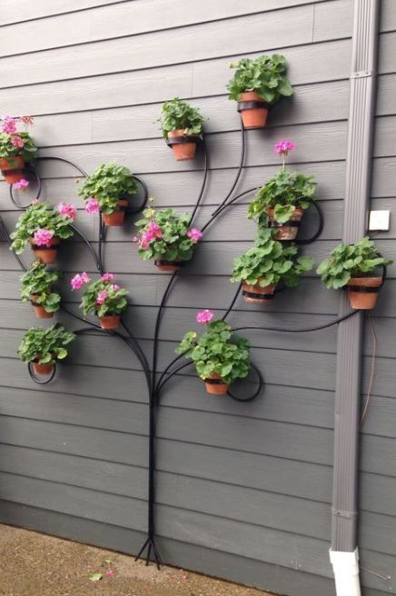 12 Impressive Planter DIY Ideas To Decorate Your Walls With Nature #diygartenprojekte