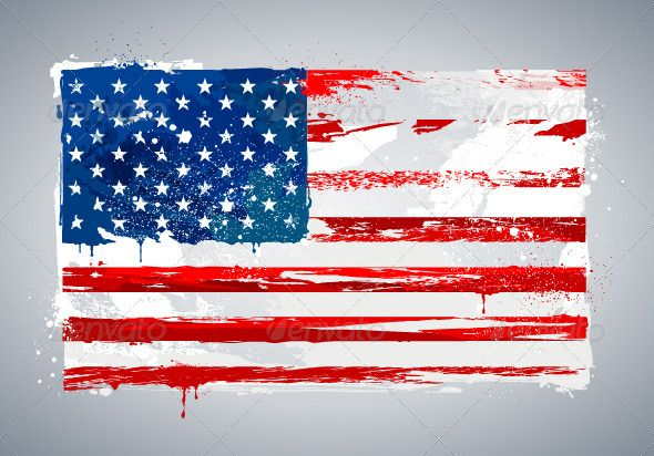 Grunge USA national flag  #GraphicRiver         Grunge USA national flag. Vector illustration.     Created: 17April12 GraphicsFilesIncluded: JPGImage #VectorEPS Layered: No MinimumAdobeCSVersion: CS Tags: america #art #blot #blue #clip-art #color #damaged #design #dirty #drop #flag #graffiti #graphic #grunge #illustration #line #national #old #paint #red #splash #stain #star #textured #unitedstates #usa #vector #weathered #white
