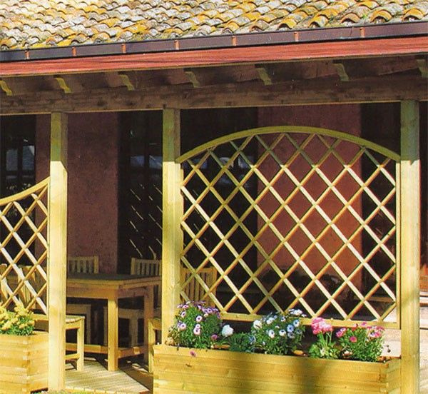 Barsotti Legnami vendita verande in legno e metallo per