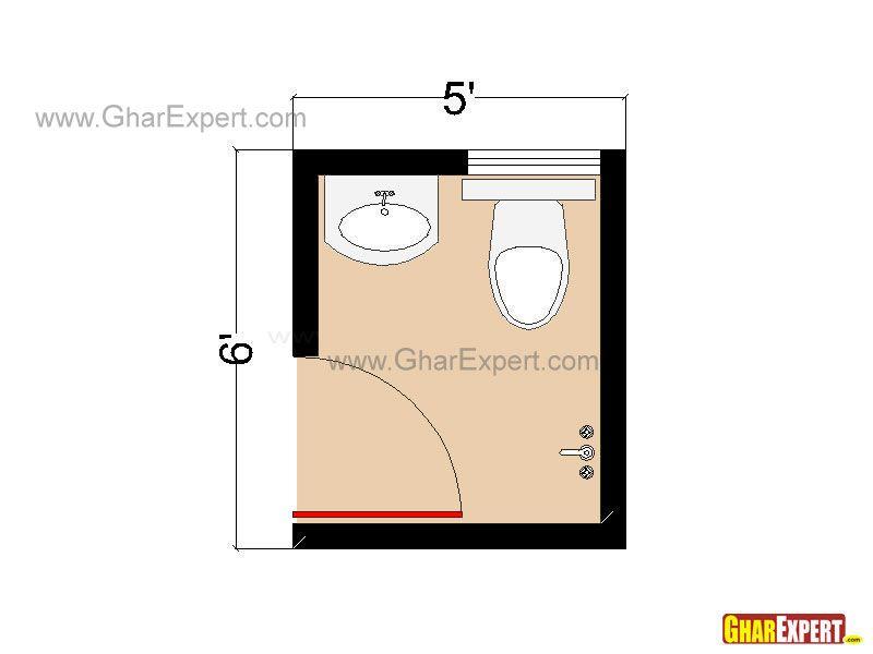 Small Half Bathroom Dimensions bathroom plan for 30 sq feet bathroom   tiempos de cambio