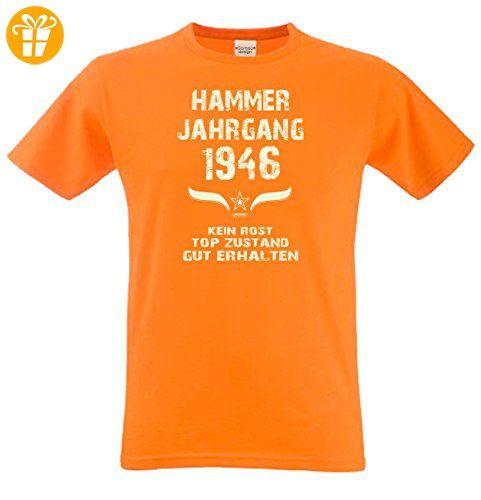 Geschenk zum 71. Geburtstag :-: Geschenkidee Herren Geburtstags T-Shirt mit  Jahreszahl