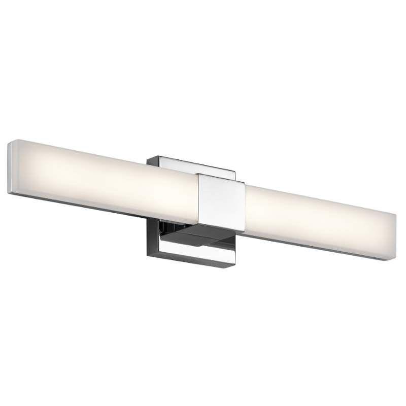 Elan Neltev Vanity Light Neltev LED Vanity Light Chrome Indoor ...