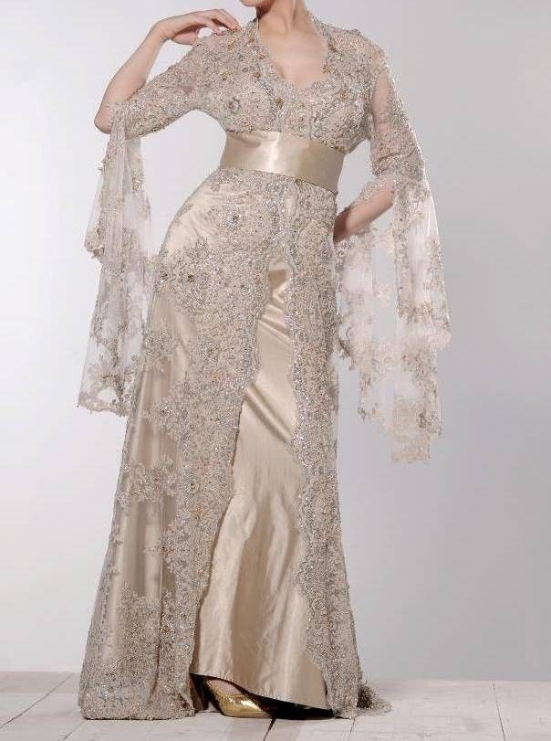 Royal Moroccan Caftan Kaftn abaya jalabiya Ladies Maxi Dress New Wedding gown 3