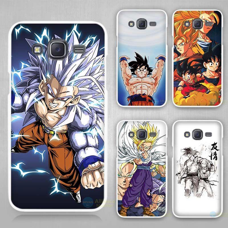 Dragon Ball sun goku super saiyan Hard White Case Cover for ...