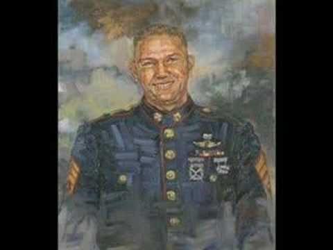 project compassion  - Artist Kaziah Hancock paints portraits of fallen soldiers for their families.