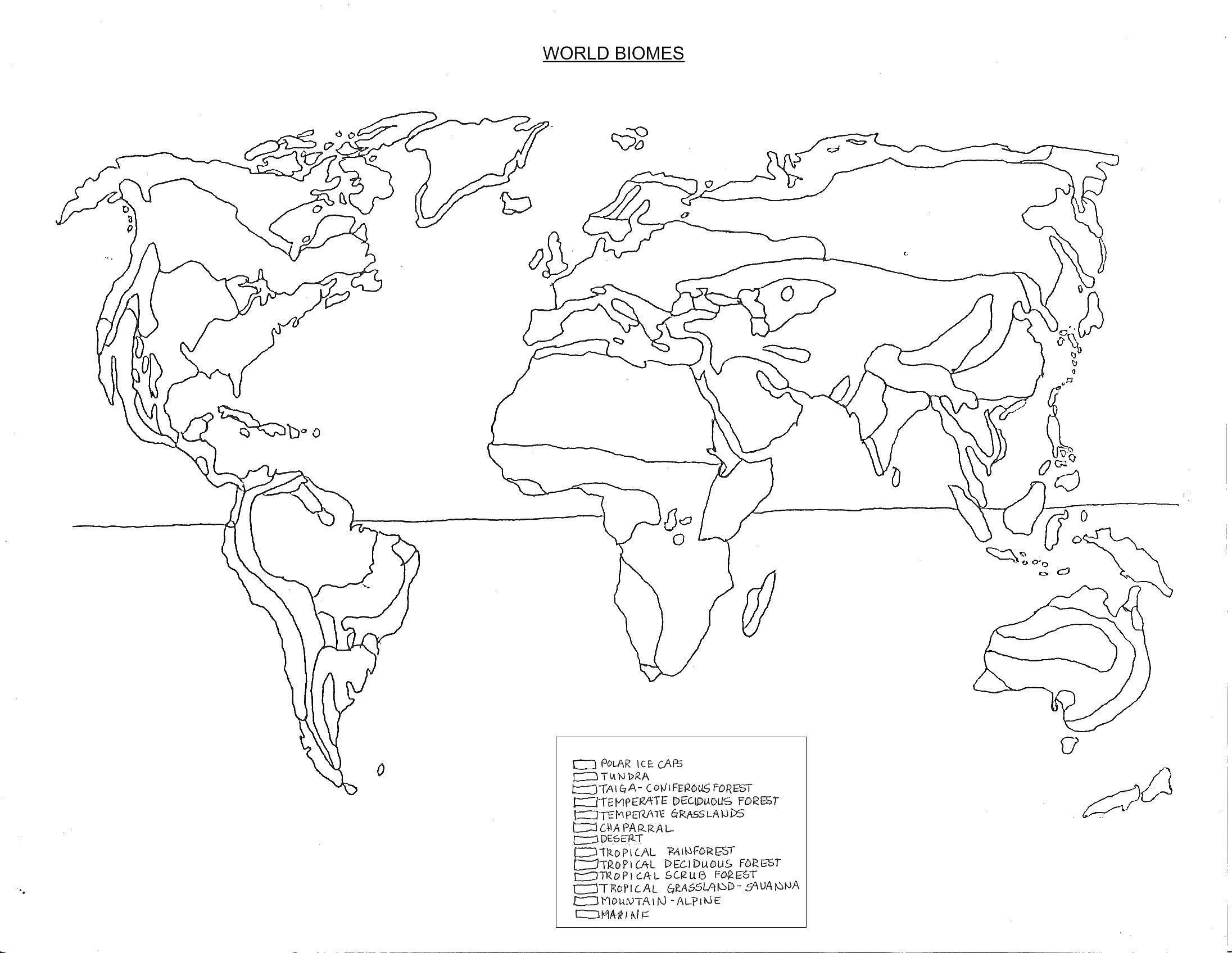 Biome Map Coloring Worksheet Beautiful Of Environmental