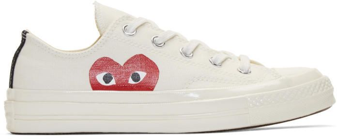 Givenchy Off-White Converse Edition Chuck Taylor All-Star '70 High-Top Sneakers eOXUPtdXrF