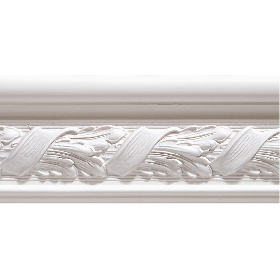 325in x 8ft white hardwood primed chair rail moulding