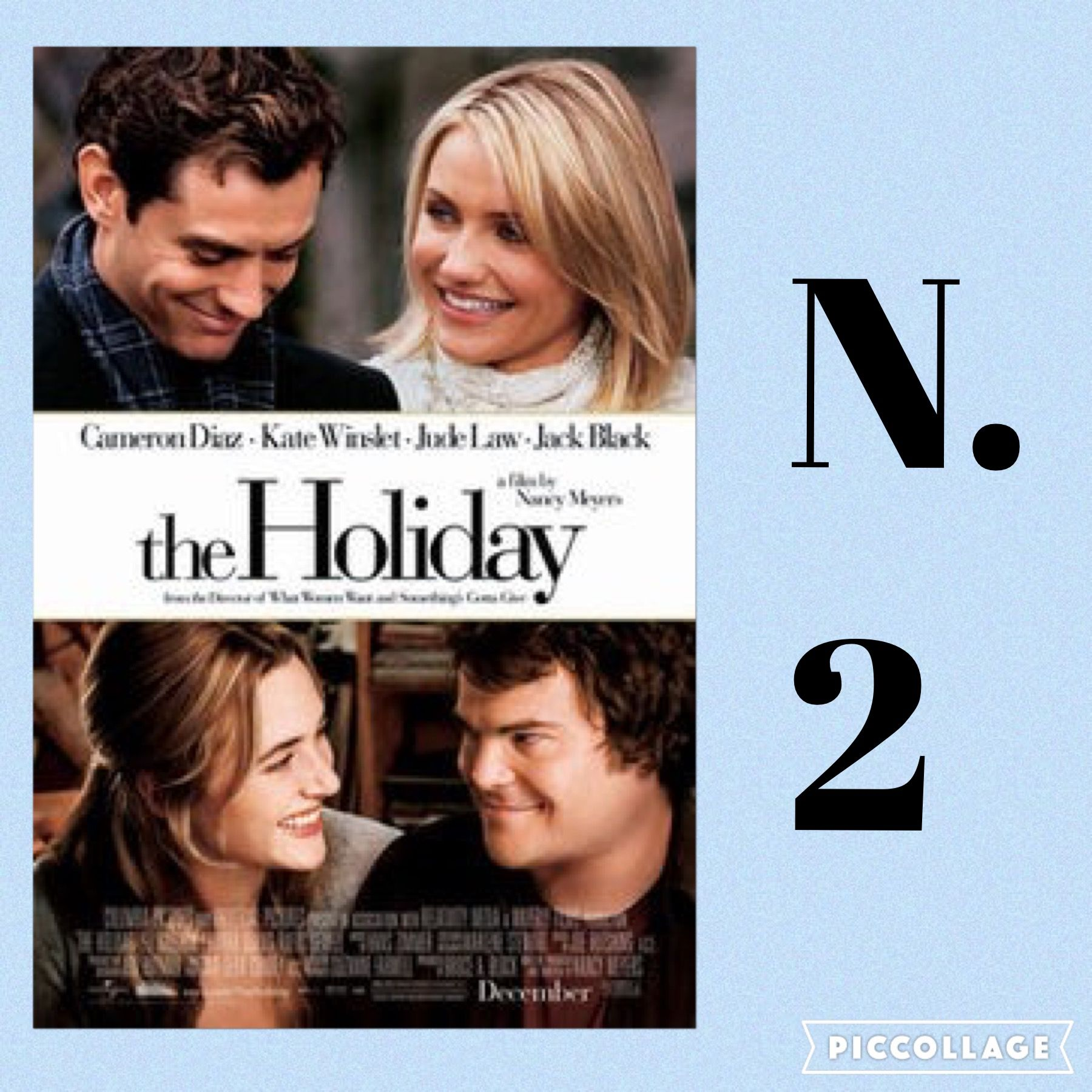 The Holiday (2006). Two women, one (Cameron Diaz) from