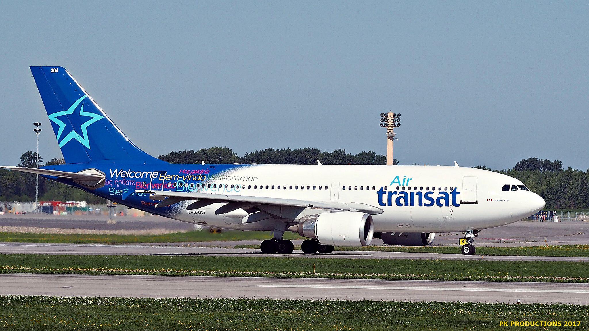 P8131340 TRUDEAU Air transat, Aircraft