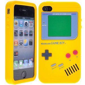 Coque iPhone 4/4S - Console rétro - Jaune   Coque iphone 4, Coque ...