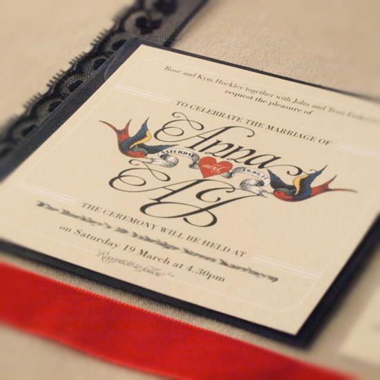Graphic website and invitation design perth western australia graphic website and invitation design perth western australia rockabilly wedding invitation stopboris Choice Image