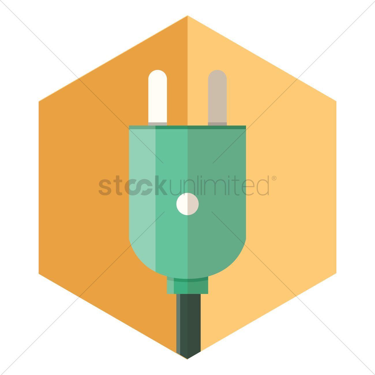 Plug vector illustration