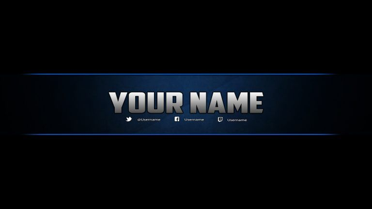 Youtube Banner Template Download Template Business In 2020 Youtube Banner Template Banner Template Photoshop Youtube Banners