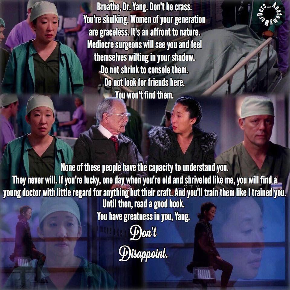 Cristina And Dr Thomas Grey Anatomy Quotes Grey S Anatomy