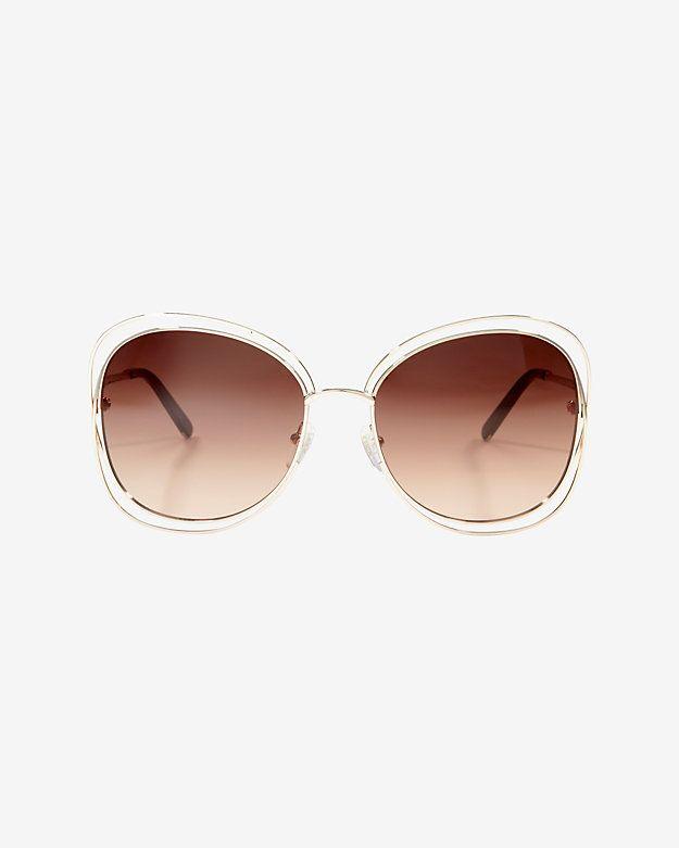 48cb6385a17b New Rims  Chloe Carlina Square Sunglasses.