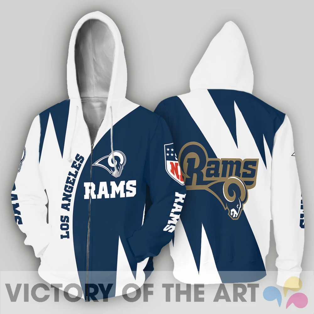 Stronger With Unique Los Angeles Rams Hoodie Washington Nationals Tampa Bay Rays Hoodies