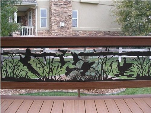 Custom Ornamental Wrought Iron Deck Railings And Spiral