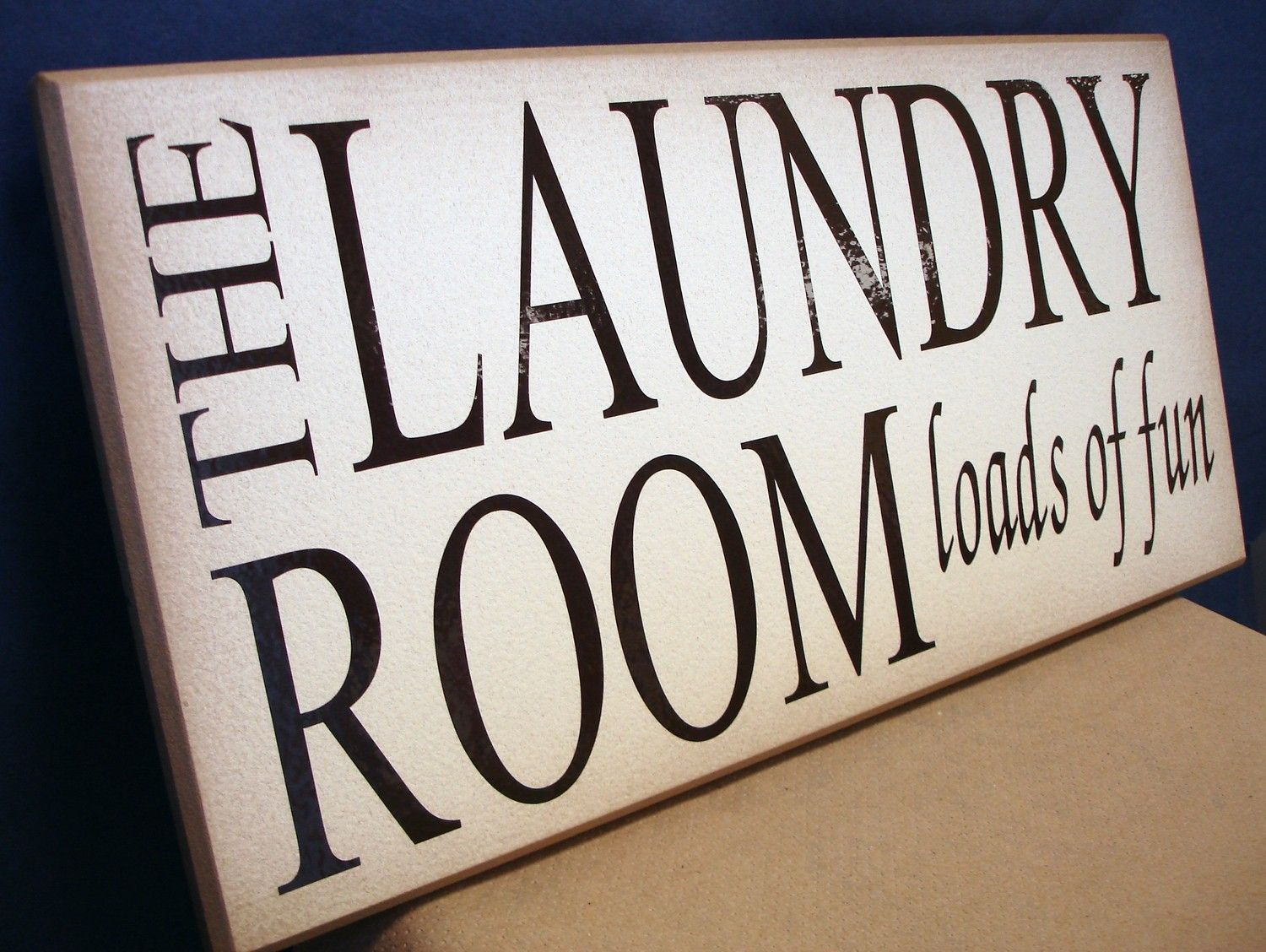 The Laundry Room Loads Of Fun Sign The Laundry Room  Loads Of Fun$18.00 Via Etsy Parsons Green