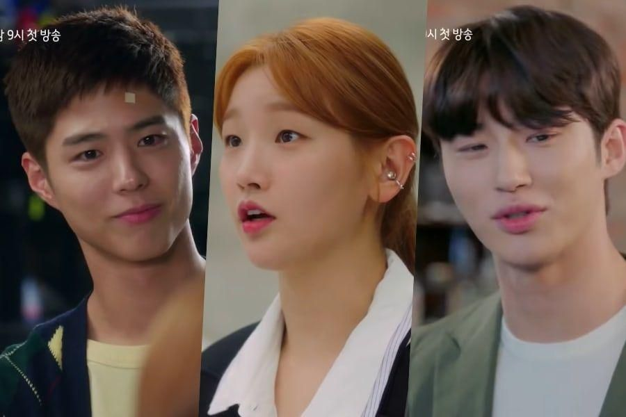 """Watch: Park Bo Gum, Park So Dam, And Byun Woo Seok Take On Dreams, Love, And Friendship In """"Record of Youth"""" Teaser"""