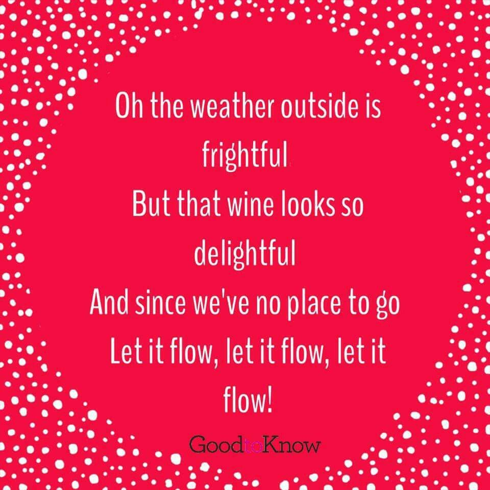 Image By Diana Slor On I Ll Drink To That Christmas Humor Let It Flow Christmas Plaques